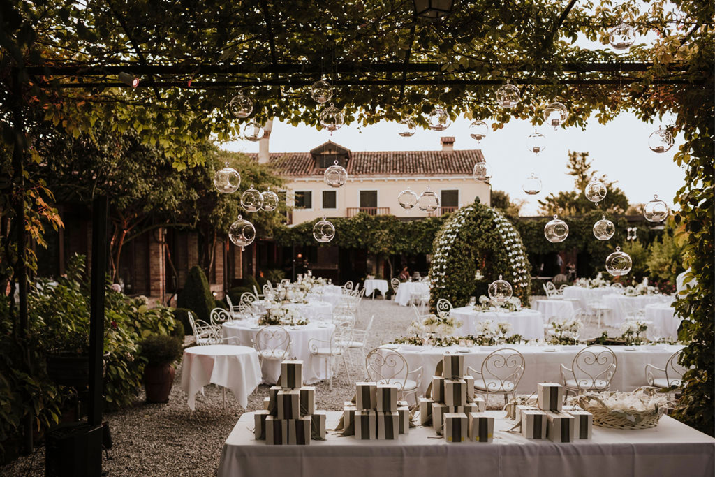I cadeau de mariage e le bomboniere per un matrimonio romantico a Venezia